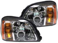2000-2005 Cadillac Deville Halo Custom headlights