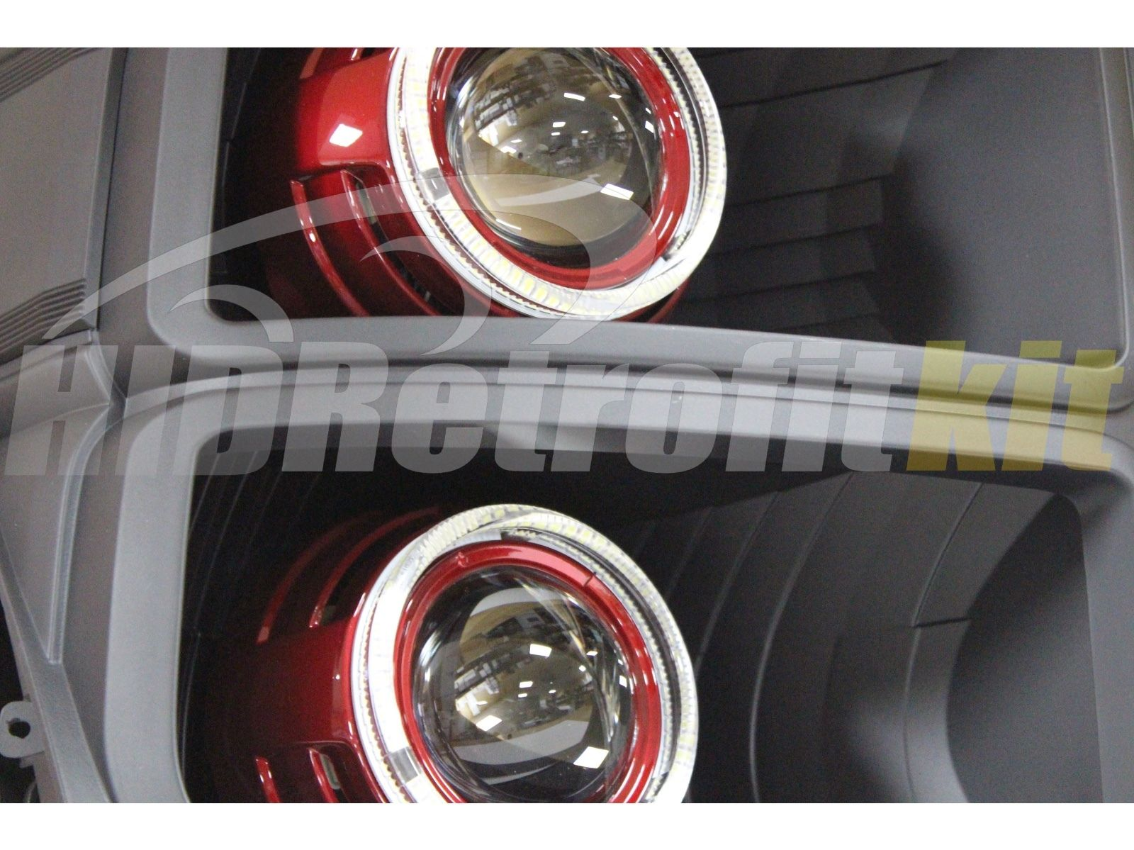 ford f-250 custom headlights