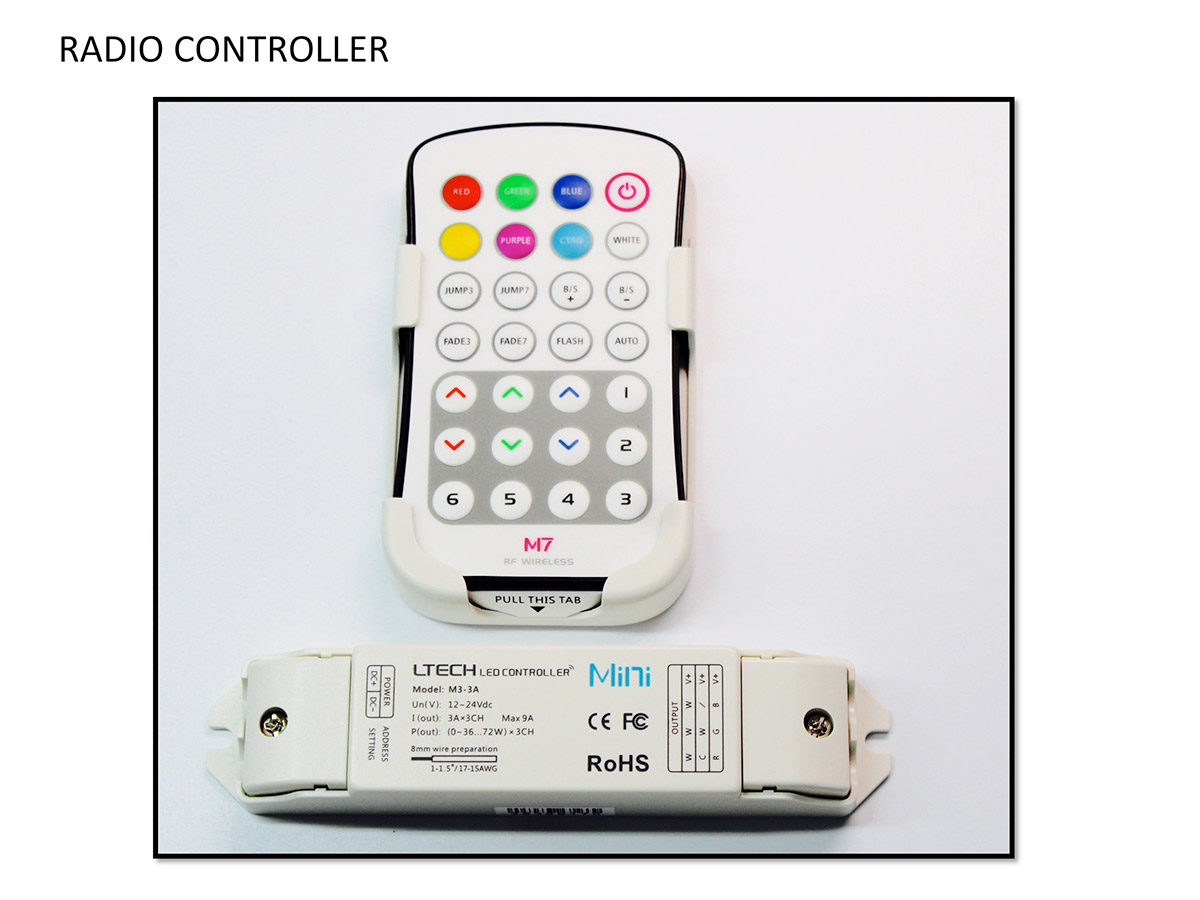 RGB LED Halo Remote controller