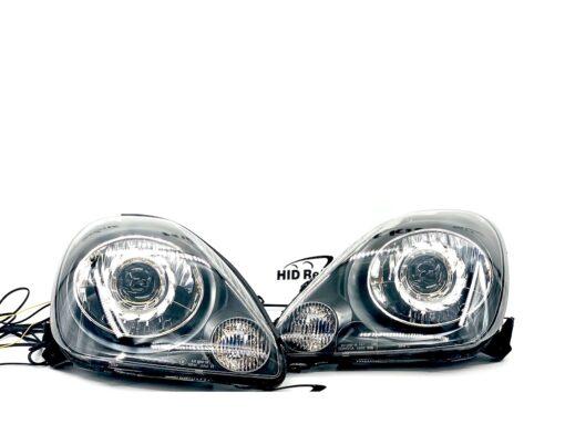 2000-02 Toyota MR2 Spyder Switchback LED Halo Projector Headlights