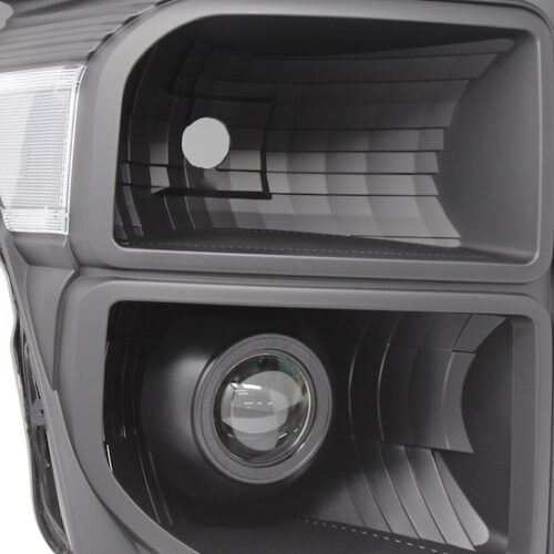ford f250 f350 custom black