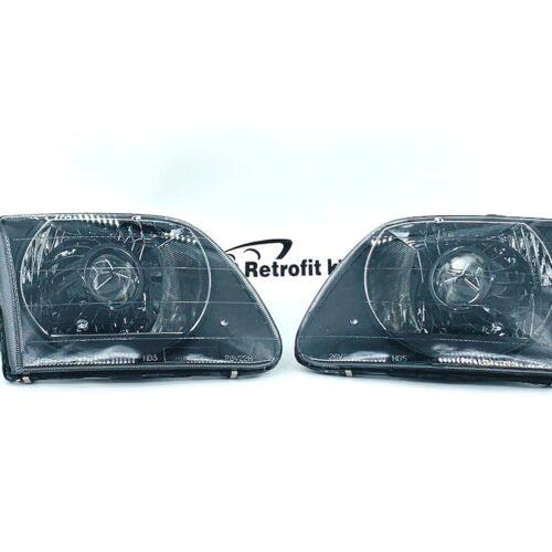97-03 Ford F-150 Lighting Custom Bi-LED Retrofit Headlights