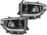 2014-18 Toyota Tundra Black Led Projector Headlights