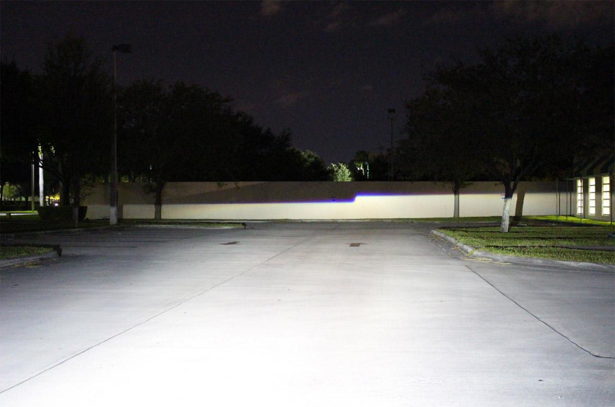 hid projector cutoff line step