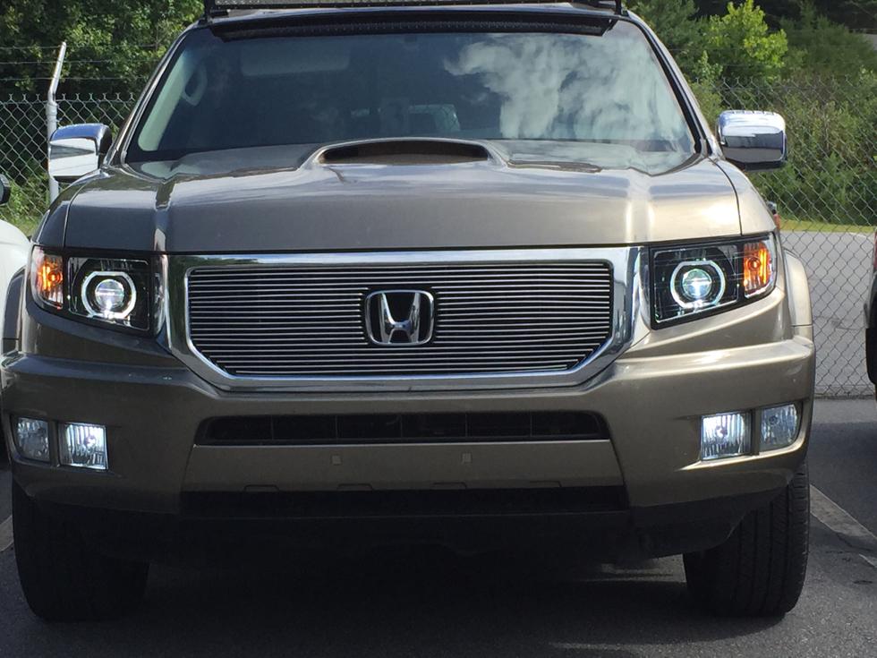 LED Honda Ridgeline Custom Projector Headlights