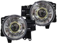 07-14 Toyota FJ Cruiser HID Retrofit Headlights