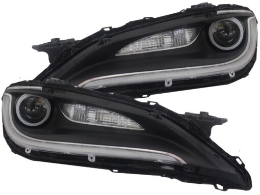 Chrysler 200 Customized Headlights