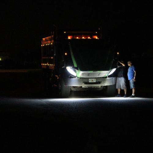 Freightliner M2 Customized Headlights