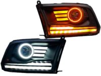 2013-2018 RAM 1500 Switchback LED Projector Headlights