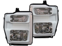 2008-2010 Ford F250 F350 Custom Painted Super Duty Headlights