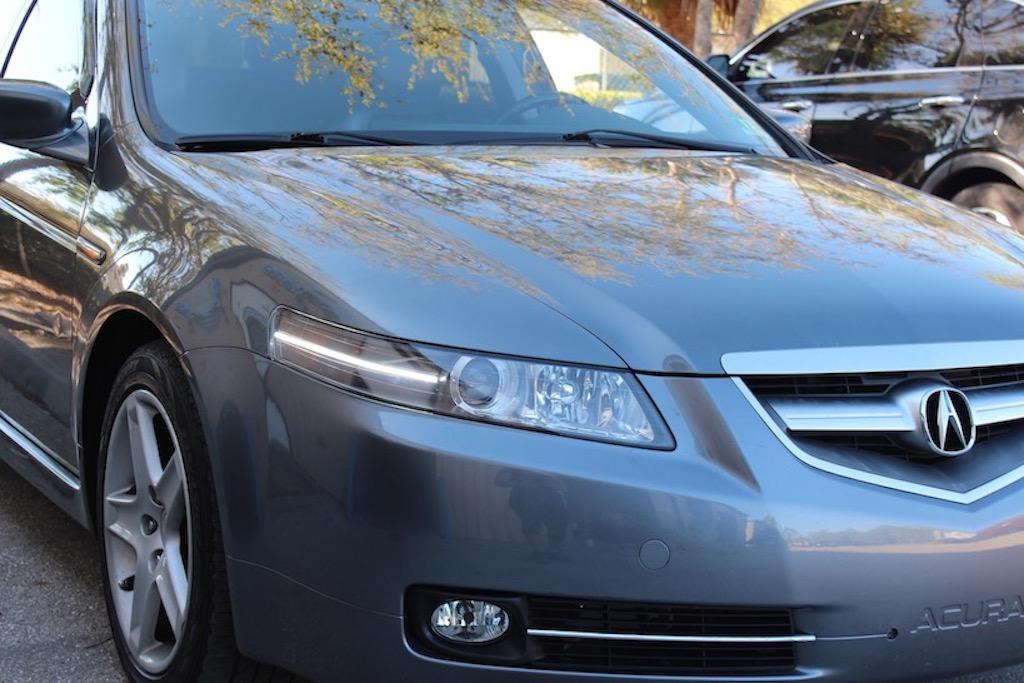 2004 2008 Acura Tl Super Bright Switchback Led Strip Headlight Retrofit Hidretrofitkit