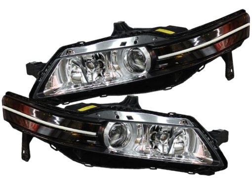 2004-2008 Acura TL Super Bright Switchback LED Strip Headlight Retrofit