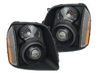 2007-2014 GMC Yukon XL 1500 Black Headlight Projectors