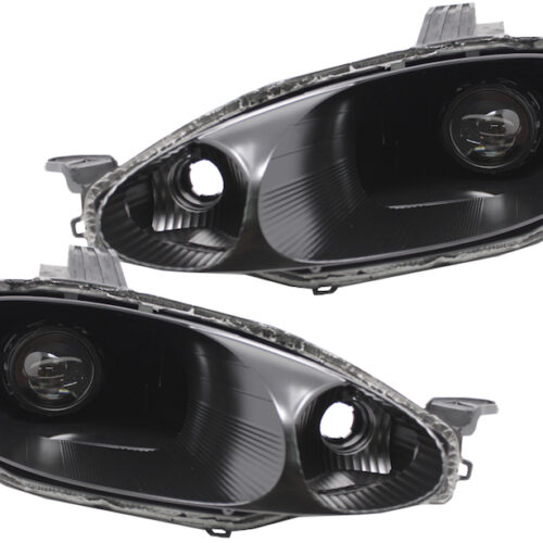 1999-2000 Mazda MX-5 Miata Black Projector Headlights