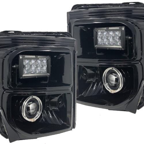 11-16 Ford F350 Superduty Rigid LED Projector Headlights