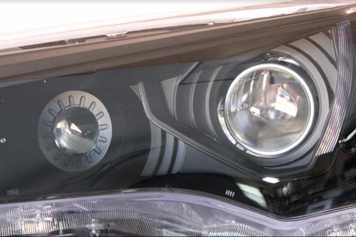 2014-2018 Toyota 4Runner Black Headlight Projector Lights