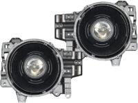 2007-2014 Toyota FJ Crusier Black LED Projector Headlights