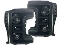 17+ Superduty Switchbacks Led Projector Black Headlights