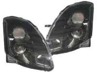 2004-2006 Nissan Maxima Black Projector Headlights