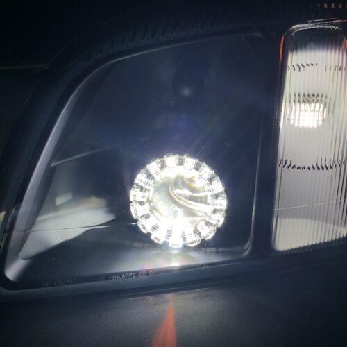2000-2005 Cadillac Deville Black Projector Headlights