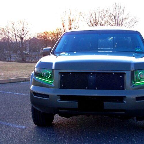 honda ridgeline custom headlights