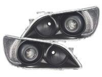 01-5 Lexus IS300 Black Projector Headlights