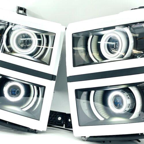 2014-2015 Chevrolet Silverado 1500 Projector Retrofit Headlights