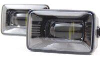 17+ Ford Super Duty Black LED Fog Lamps