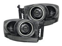 06-09 Dodge Ram 1500 Led Halo Projector Headlights