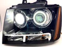 07-14 Chevy Tahoe Retrofit LED Halo Projector Headlights
