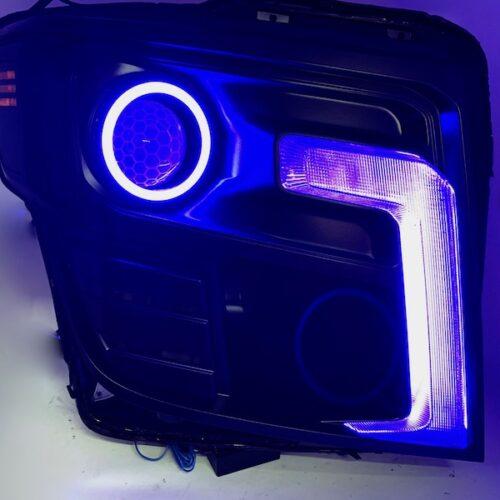 2016-2020 Nissan Titan Color-Change LED Projector Lights