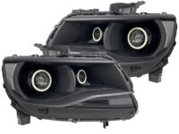 15-19 Chevy Colorado Quad Projector Strip Headlights LED Halo Lights