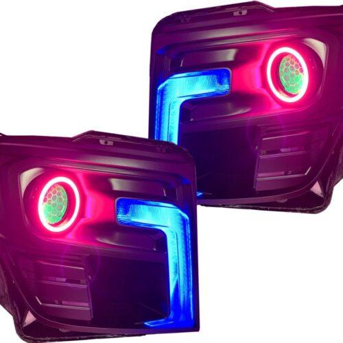 2016-2020 nissan titan color-change led