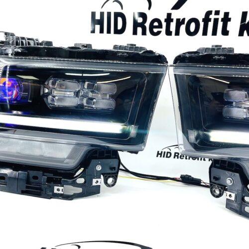 2019+ Ram 2500 3500 Custom Black Retrofit Headlights