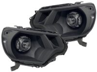 2012-2015 Toyota Tacoma TRD Blackout LED Headlights