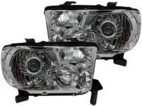 07-13 Toyota Tundra Color-Change LED Headlights