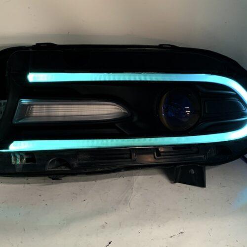 15-19 Dodge Charger Headlights Multicolor Led Lights