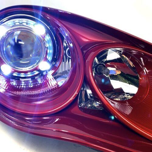 panamera headlight retrofit
