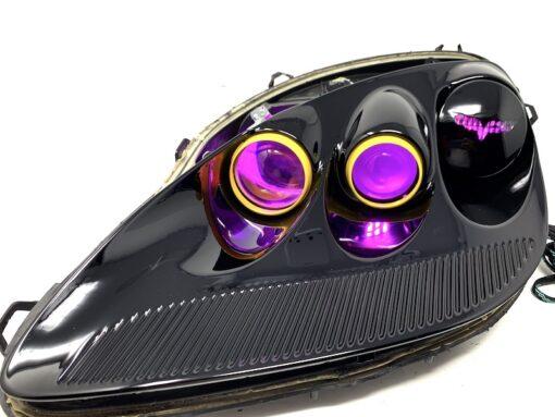 c6 corvette black headlights