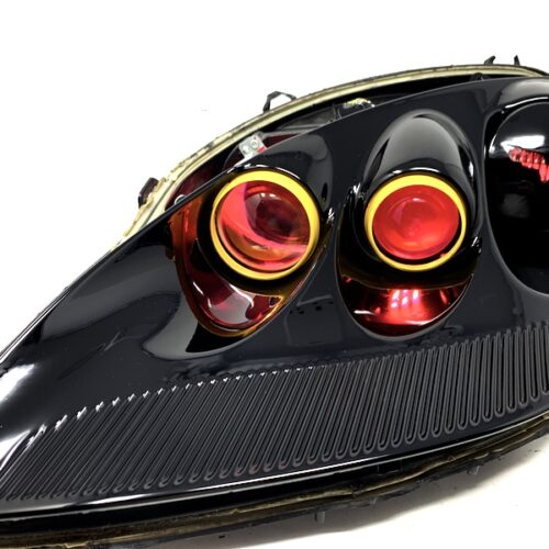 c6 black headlights