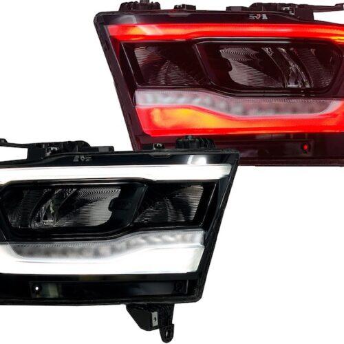 2019+ Ram 1500 Multicolor LED Custom Headlights