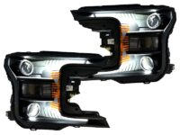 2018-2020 ford f150 headlights quad