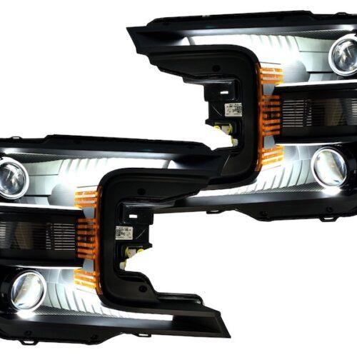 2018-2020 ford f150 headlights quad
