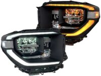 toyota tundra led headlights custom