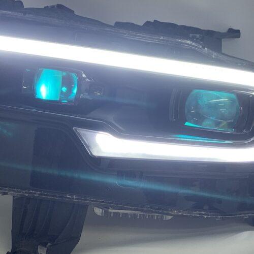 2019+ RAM 1500 LED Headlights Custom RGB Demon Eyes