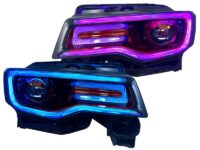 jeep grand cherokee headlights custom