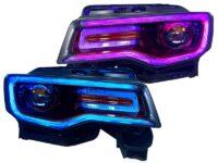 jeep grand cherokee headlights custom