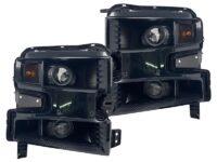 2019 Chevrolet Silverado Black Retrofit Projector Headlights