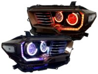 toyota tacoma led halo headlights
