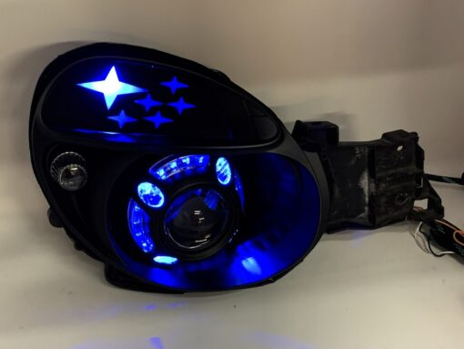 20-03 Subaru WRX Bug Eye RGB Led Projector HID Headlights